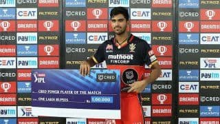 IPL 2020: RCB Spinner Washington Sundar Enjoys Bowling in Powerplay